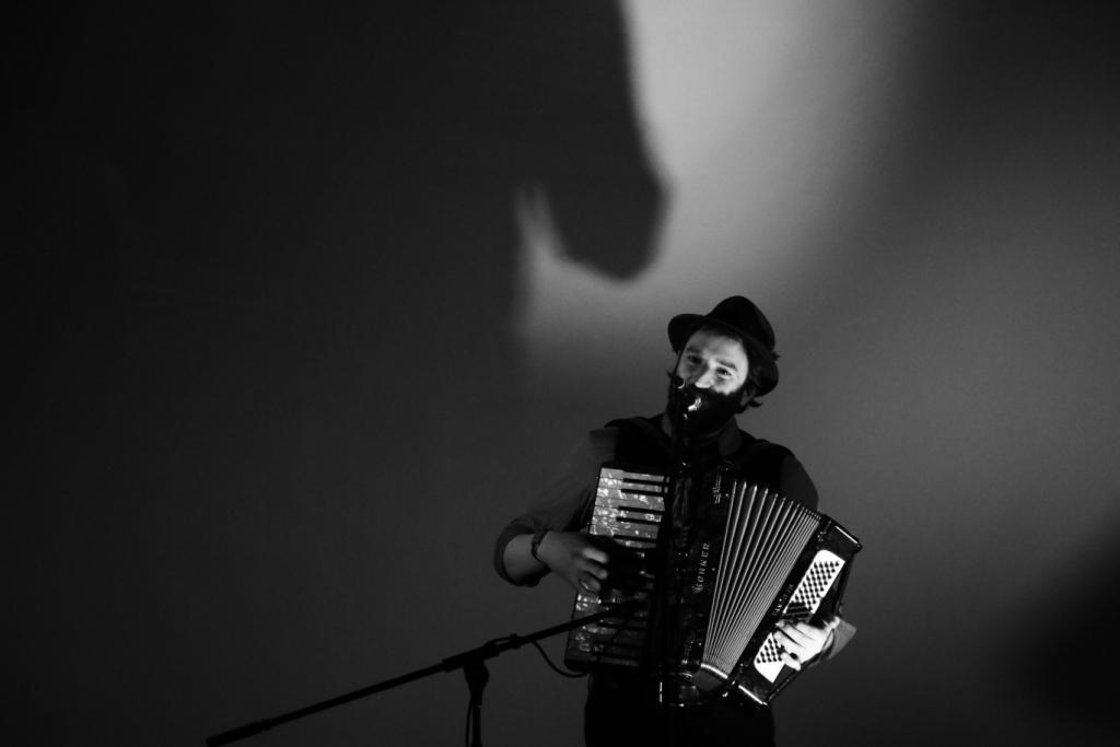 Daniel Kahn: Konzert im Kunsthaus, Foto: Konrad Behr