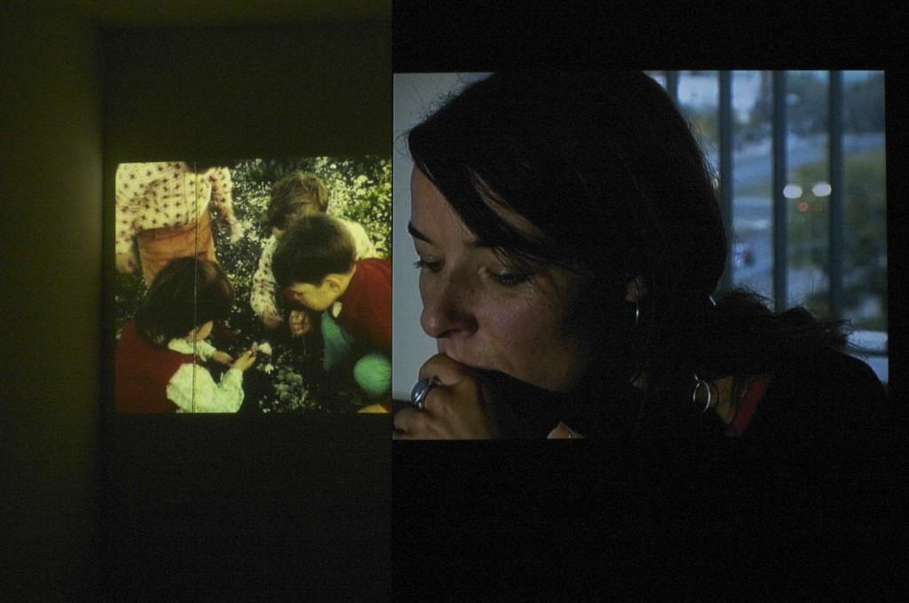 Tal Sterngast, Porozmawiajmy o dzieciach, 2007, dwukanałowa instalacja wideo, 8 min